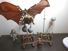 Vintage Star Wars Ewok Battle Set with Wicket , Logray & Chief Chirpa figures.