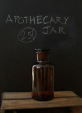 2500ml Apothecary Bottle (Amber, Wide Mouth)