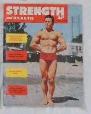 vintage bodybuilding magazine - Strength & Health - 07/1953 - TTBE