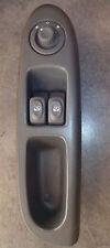 Interrupteur commande leve vitre gris foncé gauche Clio 2 phase 1 7700845735