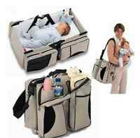 Portable Nursery Bed Baby Infant Travel Diaper Bag Stroller Crib Bassinet Boy