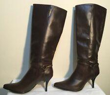 82fd1835434 Size AU 8   EUR 39   UK 6 Women s Brass Buckle Detail Knee-High