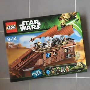LEGO 75020 STAR WARS Jabba's Sail Barge Neuf & Scellé / New & Sealed