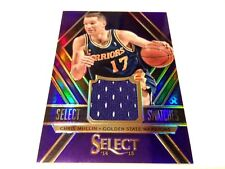 Chris mullin 2014/15 Panini Select swatches Purple refractor GW Jersey card #/99