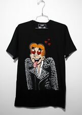DOMREBEL DOM REBEL CRUSH Graphic T-Shirt Black M Holes