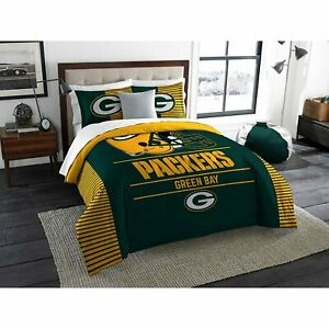 Green Bay Packers Draft King Bedding Comforter Set