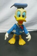 "Vintage Walt Disney Productions Donald Duck 8"" Doll, 1960's Plastic/Rubber"