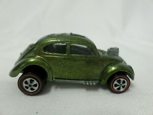 1967 Mattel Hot Wheels Red Line Die Cast Custom Volkswagen Olive 1:64 Scale
