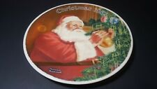 1987 Knowles Norman Rockwell Santa's Golden Gift Plate Pl2
