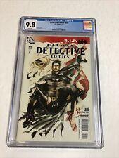 Detective Comics (2009) # 850 (CGC 9.8 WP) 1st Appearance Gotham City Sirens DC