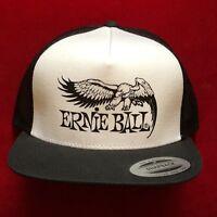 ERNIE BALL cappello nuovo BIANCO NERO Originale Rap Rock Classic Snapback HAT