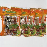 Snacks Chinese Instant Food Jellyfish Haizhe 中国零食小吃 即食海蜇皮凉拌冷菜带调料包 海蜇头花200g*5bags