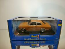 REVELL 08430 OPEL KADETT LS COUPE - ORANGE/OCRE  1:18 - EXCELLENT IN BOX