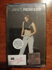 Janet.Remixed - Malaysia Original Press Cassette (Brand New)