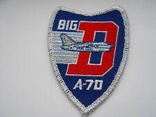 American aviation squadron cloth patch   big D   a 70