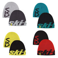Ski-Doo Reversible 2-in-1 Microfleece Beanie Snocross Hat Winter Cap Snowmobile
