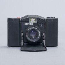 Vintage Minox 35 GL Folding Film SLR Camera Color-Minotar 35mm f/2.8 Lens Black