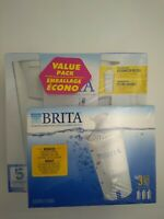 Brita Water Filtration System Brand White with additional 3 filters