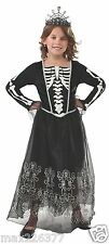 NEW Rubies Skeleton ZOMBIE Dress Halloween skull Costume Girl size 12-14 girl