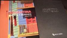 LIBRO GRAN FORMATO ARGENTINA, MIRADA Y PENSADA