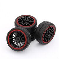 4 llantas + Neumáticos para HSP HPI 9068-6081 1/10 Coche en camino rueda