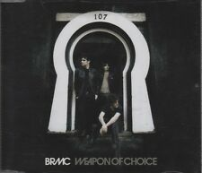 BRMC BLACK REBEL MOTORCYCLE CLUB Weapon of Choice 3 TRACK CD NEW - NOT SEALED