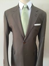 Super 150 Luxury Ariston wool suit with slanted pocket-Made in Italy