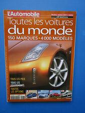 """L'Automobile """" TOUTES LES VOITURES DU MONDE """"  2001-2002 Hors-Série  N° 24"""