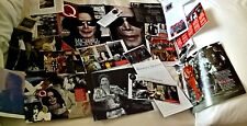 MICHAEL JACKSON pictures  clippings cuttings pages includes jacksons