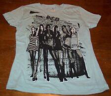 WOMEN'S TEEN PUSSYCAT DOLLS T-shirt LARGE Band NEW