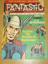 FANTASTIC #72 BRITISH WEEKLY 29TH JUNE 1968 THOR (B)^