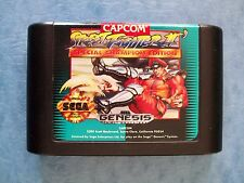 STREET FIGHTER II SPECIAL CHAMPION EDITION SEGA GENESIS ACTUAL PICS TESTED GOOD