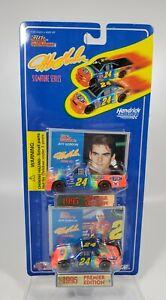 Racing Champions 1995 1/64 Jeff Gordon #24 Dupont 1995 Chevy Monte Carlo & Truck