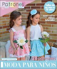 SEWING Patterns MAGAZINE Summer 2017 baby girl boy toddler spanish kids clothing