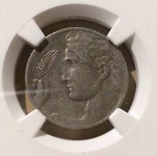 1910 R Italy 20 Centesimi NGC VF 25