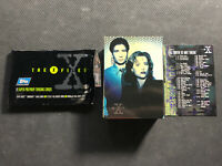 1995 TOPPS THE X FILES SERIES ONE COMPLETE (72) CARD SET THE TRUTH IS OUT THERE