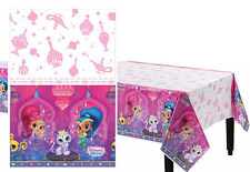 Shimmer and Shine Plastic Table Cover Birthday Decorations Party Favor Supplies