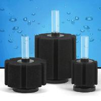 Aquarium Fish Tank Biochemical Sponge Foam Bio Filter Oxygen Fry Air Pump Well