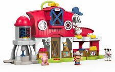 Fisher-Price Little People Caring for Animals Farm Set Kids Toys Birthday Boy Gi
