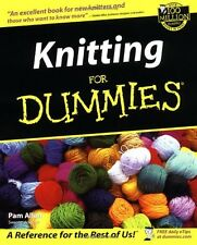 Knitting For Dummies (For Dummies (Lifestyles Paperback)) by Allen