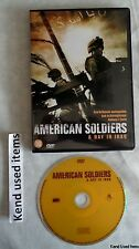 oorlog AMERICAN SOLDIERS A DAY IN IRAQ dvd NED. ONDERTITELS