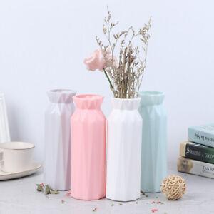 Plastic Flower Vase Creative Nordic Decoration Home Imitation Ceramic VaseUK OH