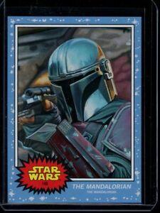 2020 Topps Star Wars Living Set #145 The Mandalorian SP Card Short Print