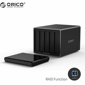 "ORICO 5 Bays 3.5"" HDD Raid Enclosure 5 X 10TB USB 3.0 Hard Drive Docking Station"