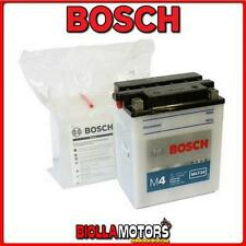 0092M4F340 BATTERIA BOSCH YB14L-A2 CON ACIDO YB14LA2 MOTO SCOOTER QUAD CROSS