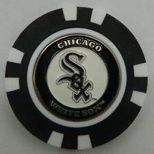 MLB Chicago White Sox Magnetic Poker Chip removable Golf Ball Marker