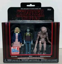 """Funko Stranger Things Eleven Will Demogorgon 3.75"""" Figure 3-Pack NYCC Exclusive"""