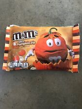 M&M's Special Limited Edition White Pumpkin Pie Chocolate 8oz Bag NEW