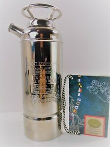 Authentic Models Fire Extinguisher Cocktail Shaker CS002 Silver Plated Brass