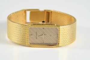 k48b03- Bucherer Armbanduhr Quarz, 750er/ 18kt Gold, Saphirglas, Ref. 979004